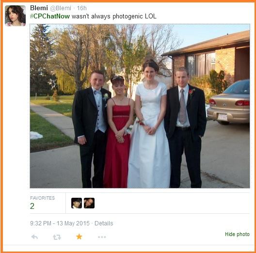 Blemi's prom photo