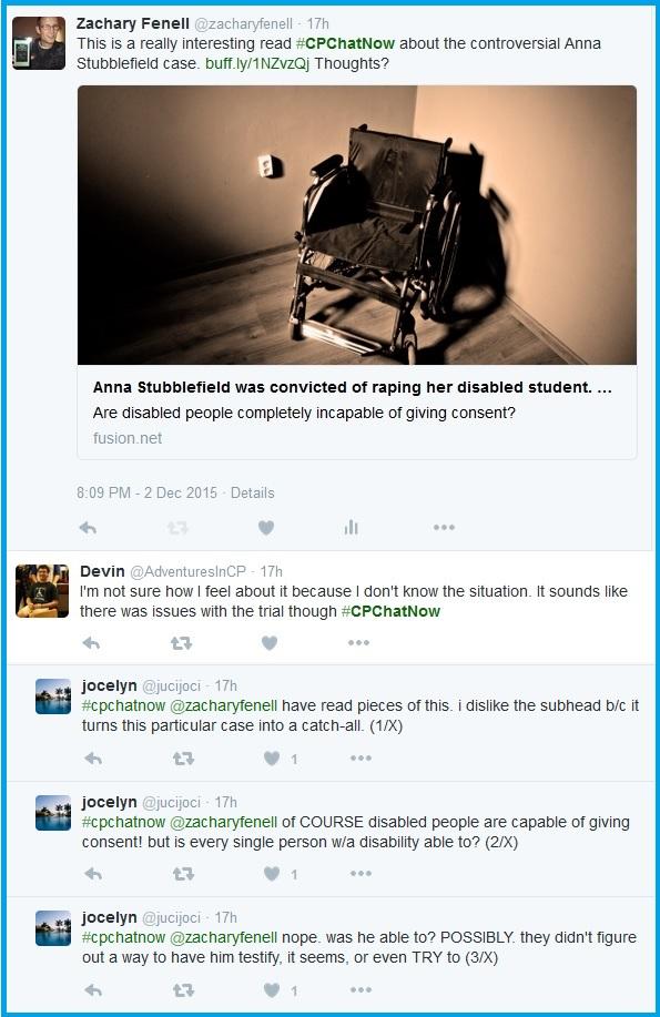 #CPChatNow discusses the Anna Stubblefield case.
