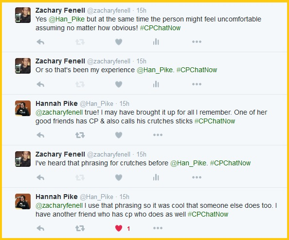 #CPChatNow discusses how someone familiar with CP may feel uncomfortable assuming the diagnosis.