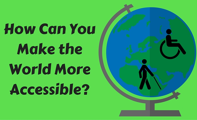 "Author and advocate Zachary Fenell asks, ""How can you make the world more accessible?"""