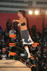Zach Gowen's first claim to fame came as a professional wrestler.